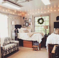 Would you believe these are all shared rooms in university residence halls?