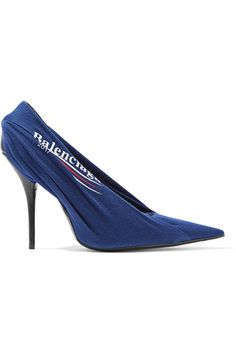 BALENCIAGA PRINTED JERSEY PUMPS. #balenciaga #shoes #