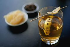 This warm spiced apple punch gets its bite from whiskey and fire from cloves and ginger, getting you hot and ready for any trouble coming your way.