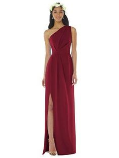 Cranberry Bridesmaid Dresses, Formal Bridesmaids Dresses, One Shoulder Bridesmaid Dresses, Red Bridesmaids, Curvy Dress, Group, Wedding Outfits, Wedding Dresses, Evening Dresses