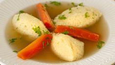 Găluște de gris pufoase, pentru supă | Laura Laurențiu