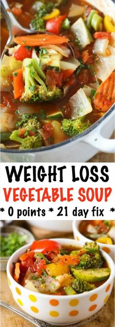 WEIGHT LOSS VEGETABLE SOUP RECIPE | Special Cuisine Recipes
