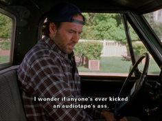Luke Danes, Gilmore Girls. Love him! This was so funny! Gilmore Girls quote.