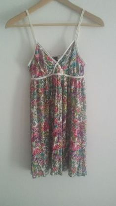 Vestido estampado de tirantes - Chicfy / print dress suspenders