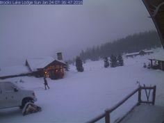 Togwotee Pass Brooks Lake Lodge near Tetons in Wyoming
