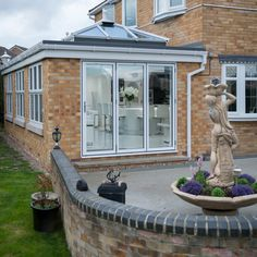 We create beautiful open plan living spaces. This gorgeous Orangery extension has a long lanter roof which allows the light to flood into the kitchen dining area. The glass has a solar control coating on the outside to keep it cool in the summer and a special soft coat on the inside to keep it warm in the winter. Dirty Kitchen Design, Dining Area, Kitchen Dining, Orangery Extension, Warm In The Winter, West Midlands, Open Plan Living, Conservatory, Extensions
