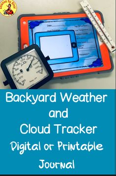 Have your students go outside with their iPads or phones and observe clouds and weather with this daily journal page that they can use as part of their distance learning or for homework. Science Resources, Science Lessons, Teacher Resources, Teaching Ideas, Middle School Science, Elementary Science, Daily Journal, Journal Pages, Weather Tracking