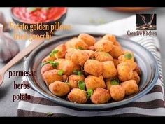 Creative Kitchen - YouTube Potato Croquettes, Recipe From Scratch, Fried Potatoes, Gnocchi, Fries, Ethnic Recipes, Kitchen, Channel, Food