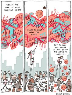 INCIDENTAL COMICS: Above the Noise