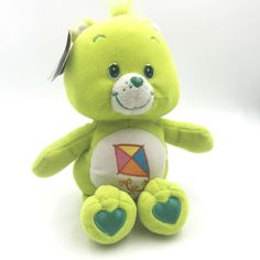 Care Bear Do Your Best Bear 10 in Plush Stuffed Animal Green with Tags #CareBears #AllOccasion