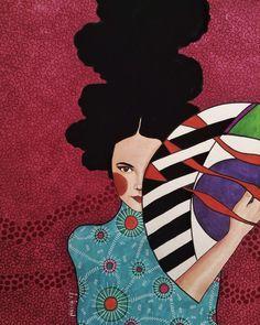 Impressive Woman Illustrations by Hülya Özdemir Painting Inspiration, Art Inspo, Plakat Design, Portrait Illustration, Illustration Fashion, Fashion Illustrations, Illustrations And Posters, Portrait Art, Female Art