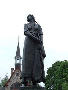 Statue of Evangeline in Acadia Nova Scotia. Love the history of my homeland.
