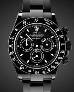 TItan Black DLC Rolex Daytona: Midnight