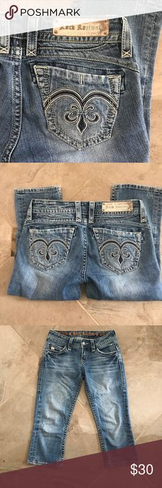 Rock Revival capri jeans Rock Revival capri jeans Rock Revival Jeans