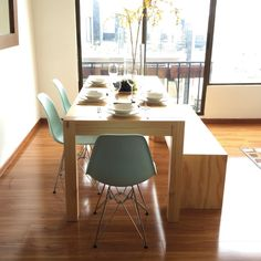 3c20079455e Los 6 mobiliarios que querrás tener en tu hogar. Banca Comedor Maik by  Muebles co.
