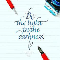 @Regrann from @tolgagirgin99 - Italic Calligraphy Quote