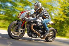moto guzzi | ... -italienischer Umbau einer Moto Guzzi Fahrbericht Ipothesys Aria V12