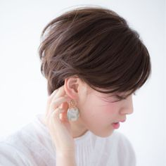 Pin on hair 私たちに従ってください Pin on hair 私たちに従ってください Cool Short Hairstyles, Hairstyles With Bangs, Short Hair Styles, G Hair, Long Bangs, Haircut And Color, Short Pixie, Hair Designs, Hair And Nails