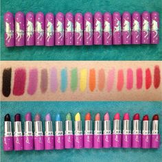 #limecrime make up, so many of them must haves! Or all of them... ♡