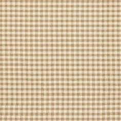 Small Check Toffee fabric