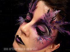 Dark Fairy Makeup   ana arthur make-up artist: Dark Fairy. Collaboration with ...