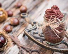 Verrines de mousse de châtaignes au chocolat : http://www.fourchette-et-bikini.fr/recettes/recettes-minceur/verrines-de-mousse-de-chataignes-au-chocolat.html
