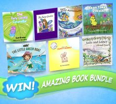 For young adventurous souls who love to read, The Little Green Boat is for you! Plus, fill out a quick survey & win a book prize pack worth +$110!