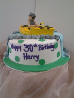 This Kayaker can tell you it's all about the details to make your cake look this realistic.
