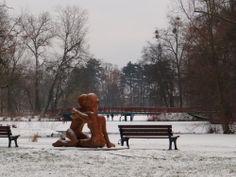 """fot.Anna Kwiatkowska: """"Park Sołacki. Miejsce pilnie strzeżone przez """"Dwie kobiety"""", które pomimo swojego wyglądu nie są aż tak straszne!"""""""