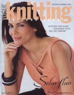 vogue, summer 2004, springsumm 2004, vogu knit, сервис онлайндневников, crochet, knitting, book, magazin
