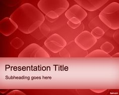 Free Red Cells PowerPoint Template is a free medical PowerPoint background and medical PPT template that you can download to prepare presentations on red cells and blood #health #medical #powerpoint