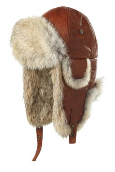 Crafting superior headwear and accessories has been Crown Cap's passion since Fashion Wear, Mens Fashion, Aviator Hat, Mens Fur, Trapper Hats, Men Design, Cool Things To Buy, Stuff To Buy, Go Shopping