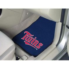 Minnesota Twins MLB Car Floor Mats (2 Front)