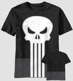 Frank Castle Antihero Marvel Comics S M L XL XXL unisex PUNISHER TShirt Skull