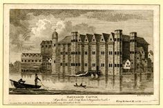 aka Castle Baynard : a great house on the Thames at Blackfriars dating from the century Framed Print Framed, Poster, Canvas Prints, Puzzles, Photo Gifts and Wall Art Great Fire Of London, The Great Fire, Small Fishing Boats, Small Boats, Wars Of The Roses, London History, 11th Century, Old London, River Thames