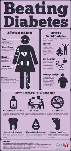 Some very BASIC points about caring for your health when you have diabetes