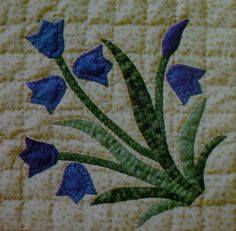 Block 5 from Wildflowers Quilt