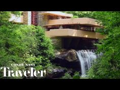Fallingwater 3D House by Frank Lloyd Wright - YouTube