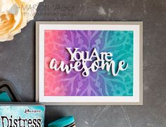 You are Awesome - Made Marion | Made Marion