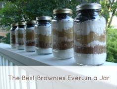 Frugal Family Times: Recipe: The Best Brownies Ever (...in a Jar for Giving!)