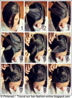 how to cut your own hair short messy layers … Beauty t…