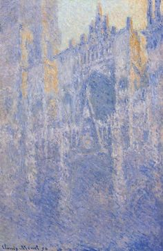 Rouen Cathedral, the Portal, Morning Fog.1894 by Claude Monet