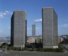 여의도광장과 쌍둥이빌딩