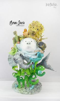 Acts of Green collaboration IlusionaCakes - Cake by Berna García / Ilusiona Cakes