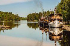Finland—In Savonlinna, board ancient steamship  to reach Hotelli Punkaharju on Lake Saimaa.  photo Jaako Posti