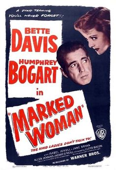 Humphrey Bogart and Bette Davis in Marked Woman (1937)