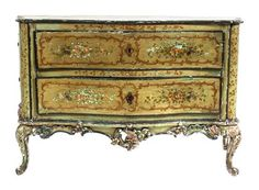 An Italian Rococo Painted Commode  |  Palm Beach Winter Auction  |  Palm Beach, Florida