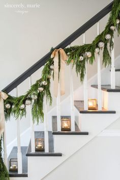 Our Classic Christmas Home Tour - Sincerely, Marie Designs We've decked our halls with simple and elegant touches throughout. We're thrilled to share a classic Christmas home tour with you this holiday season!