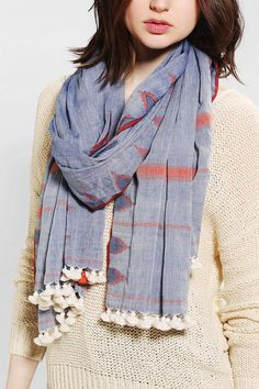 Aish Double Temple Scarf