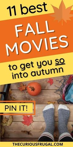 Get out your coziest sweater and curl up on the couch with these autumn movies! These are 11 of the best fall movies to watch this season, on Netflix and on Amazon Prime. Cuddle up for some self-care this weekend or snuggle with the family and a big bowl of popcorn! #fallmovies #movies #thingstodowhenbored #activitiesforkids #familyactivities